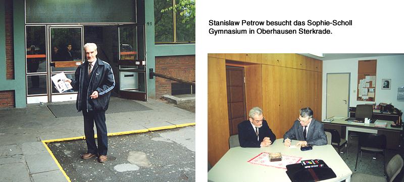 Besuch Stanislaw Petrows im Sophie-Scholl Gymnasium